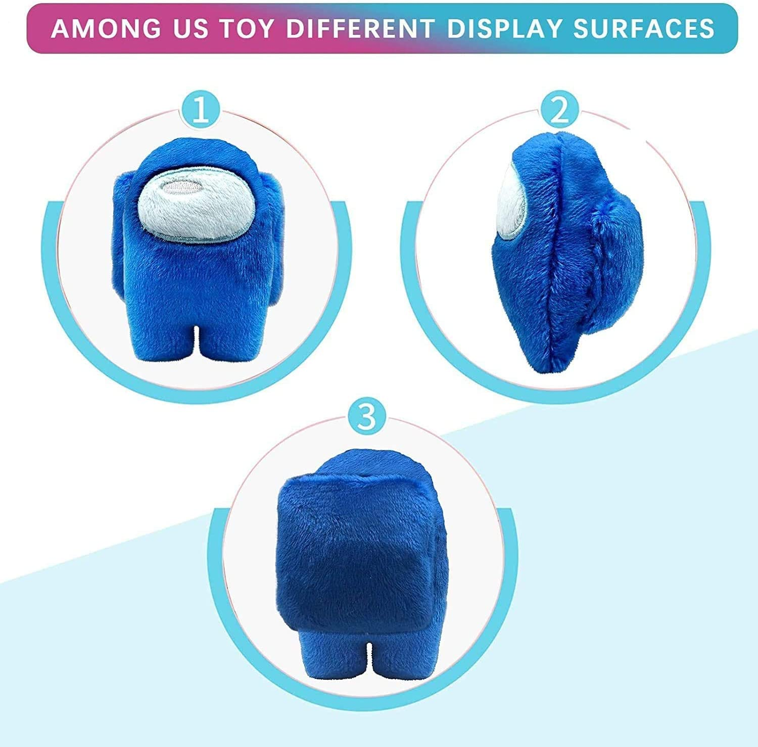 Among Us Plushie Plushiest Gifts for Game Fans Among Us Plush Stuff Toy Among Us Stuffed Plushies Game Soft Toys Figures Doll Car Home Decoration for Boys Girls Birthday