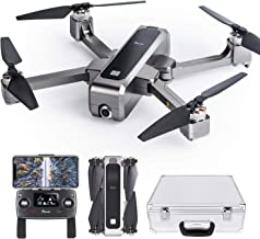 $299 » Potensic D88 Foldable Drone, 5G WiFi FPV Drone with 2K Camera, RC Quadcopter for Adults and Experts, GPS Return Home, Ultrasonic Altitude Setting, Optical Flow Positioning, Brushless Motors with Case