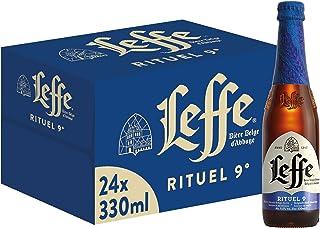 Leffe Rituel 9° Birra d'Abbazia, Bottiglia - Pacco da 24 x 330 ml