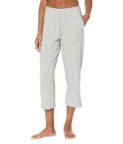 Skin Organic Cotton Carlyn Crop Pants (Heather Grey) Women