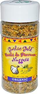 Garlic Gold Certified Organic Toasted Organic Garlic Nuggets Herbs de Provence - Great Herb Seasoning (1.7 oz)