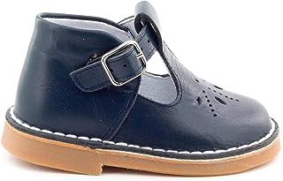 Boni & Sidonie - Salomé en Cuir à Boucles étoile - Mini Henry - Chaussure bébé Premier Pas