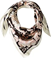 Salvatore Ferragamo - Silk Tapestry Scarf
