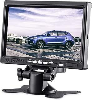 KALESMART 7 Inch HD Car Monitor TFT LCD Screen Monitor HDMI - 1024x600 Display Built in Speaker for Raspberry Pi 3 Model B+ 3B CCTV Computer PC Dvr Car