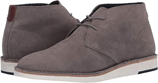 Gray English Suede