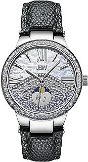JBW Womens Quartz Watch, Analog Display and Leather Strap J6378C