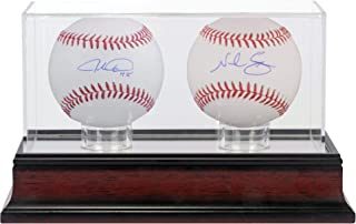 Jacob DeGrom and Noah Syndergaard New York Mets Autographed Baseballs and Mahogany Two Baseball Case - Fanatics Authentic Certified