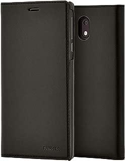Nokia Official 3.1 Slim Flip Wallet Case - Black