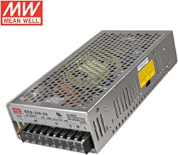 [meanwell] genuine authorized general generation Taiwan meanwell switching power supply NES-200-24 200W 24V 8.8A