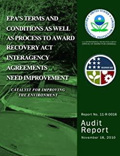 EPA's Terms and Conditions as Well as Process to Award Recovery Act Interagency Agreements Need Improvement