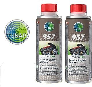 Tunap 157 Micro Logic Premium Reinigungsmittel für den Motor Innenraum oder für den Schmierkreislauf, 200 ml, 2 Stück