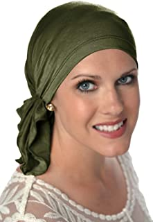 25d7b06b78da3 Slip-On Scarf- Caps for Women with Chemo Cancer Hair Loss