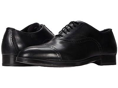 Cole Haan Dawson Grand 360 Cap Toe Oxford (Black Waterproof) Men