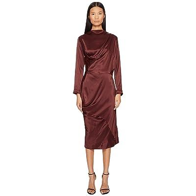 Vivienne Westwood New Fond Dress (Oxblood) Women