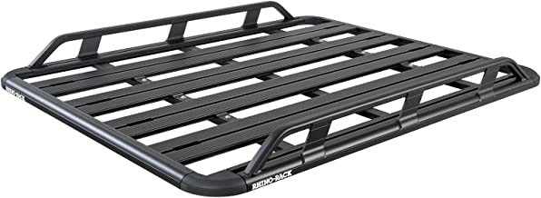 Modula Racks Compatible with: Land Rover LR3 & LR4 4dr SUV with Factory Tracks - Rhino-Rack Long 2005 to 2016 - Rhino-Rack Pioneer Elevation (84