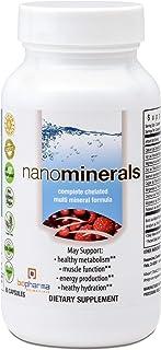 Biopharma Scientific NanoMinerals Complete Chelated Multi-Mineral Capsules | 30 Servings | Calcium, Iron, Magnesium, Zinc,...