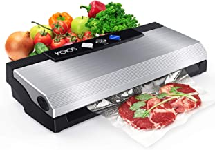 KOIOS Vacuum Sealer Machine, 80Kpa Automatic Food Sealer with Cutter for Food Savers, 10..