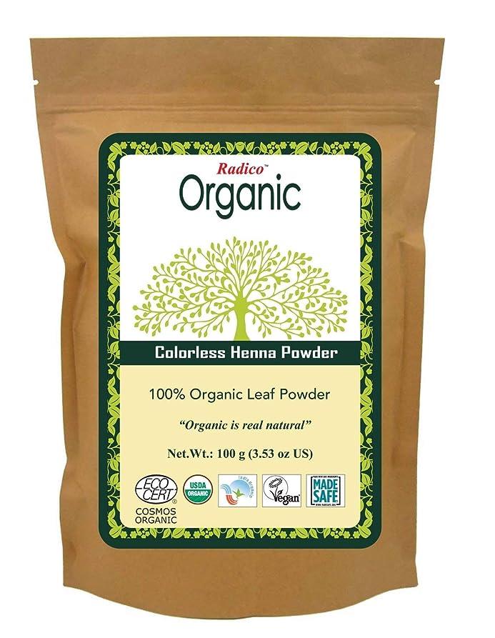 後方胚退化するCOLOURME Organic (カラーミーオーガニック ヘナ ヘアトリートメント) クリア 100g