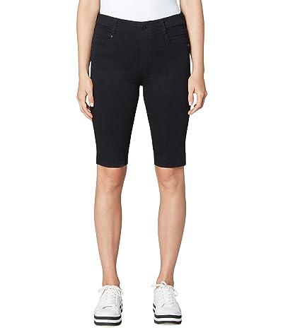 Liverpool Gia Glider Cruiser Shorts in Black Rinse Women