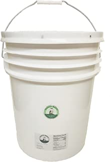 5 Gallon Bulk Pure Vermont Maple Syrup in Easy to Handle Pail with Pour Spout (Amber Color, Rich Taste)