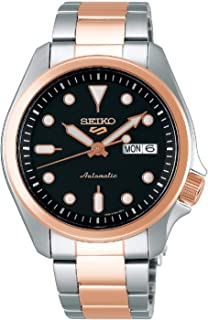 Seiko Sport 5 Facelift Automatic Stainless Steel Watch SRPE58K1 Black