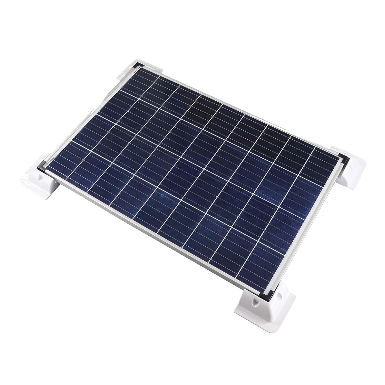 Enjoy solar/® ABS Holding Spoiler Solar Module Bracket for Motorhomes Caravans Boat 2-Way Roof Guide