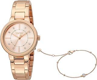 ESPRIT Women's Fashion Quartz Watch - ES1L246M0075, Rose Gold