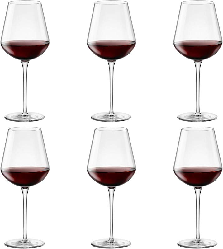 Bormioli Rocco Inalto Uno Extra Large Wine Glass 640ml Pack Of 6 Drinking Glasses