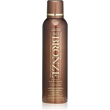 Hempz So Bronze Sunless Airbrush Tanning Spray, Brown,  7.5 Fluid Ounce