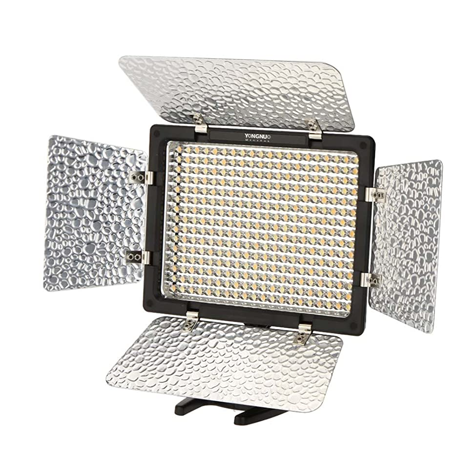 YONGNUO YN-300 III LED Camera Video Light Adjustable Color Temperature 3200k-5500k for DSLR Canon Nikon Olympus Pentax Samsung Sony with IR Remote Phone Operation