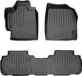 MAXLINER Floor Mats 2 Row Liner Set Black for 2008-2013 Toyota Highlander Non Hybrid