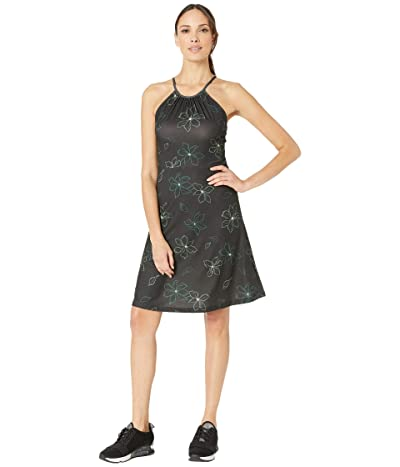 FIG Clothing Uma Dress (Black Magnolia) Women