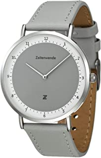 Men's Analog Quartz Watch   Italian Leather Band   Super Lightweight Wrist Watch   Swiss Ronda 762 Movement   Adjustable 2-Layer Italian Leather   Minimalist Slim Design   Three Colors