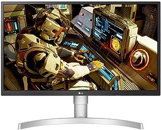 LG UltraFine 27UL550-W, Moniteur IPS UHD 4K 27'' (3840x2160, 5ms, sRGB 98%, HDMI, Display Port, HDR, FreeSync, Ajustable H...