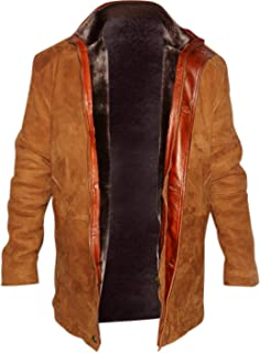 Sheriff Walt Robert Taylor Real Suede Leather Coat