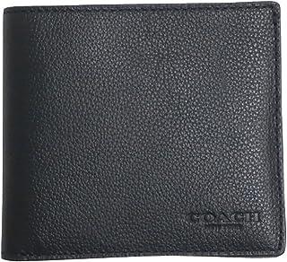 コーチ COACH 財布 折りたたみ財布 メンズ アウトレット レザー 二つ折り カーフ ビルフォード F75084 BLK ブラック コーチ COACH メンズ