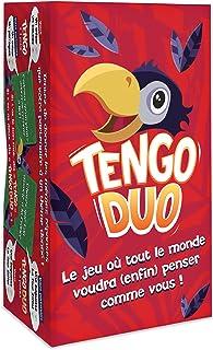 TENGO DUO - Le Nouveau Jeu de Société d'Anticipation et de Rapidité - 480 Cartes pour Famille, Amis, Enfants, Adultes - Fa...