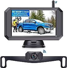 Wireless Backup Camera with 5'' Monitor , LeeKooLuu F09 HD 1080P Bluetooth Backup Camera Stable Digital Signals for Trucks...
