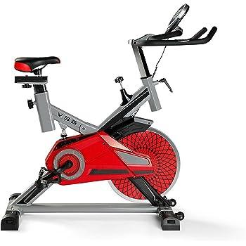 Deluxe Bicicleta de Spinning Profesional Abso Totalmente Ajustable ...