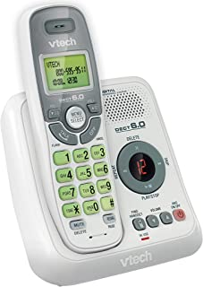 VTech CS6124 DECT 6.0 Cordless Phone with Answering System and Caller ID/Call Waiting,..