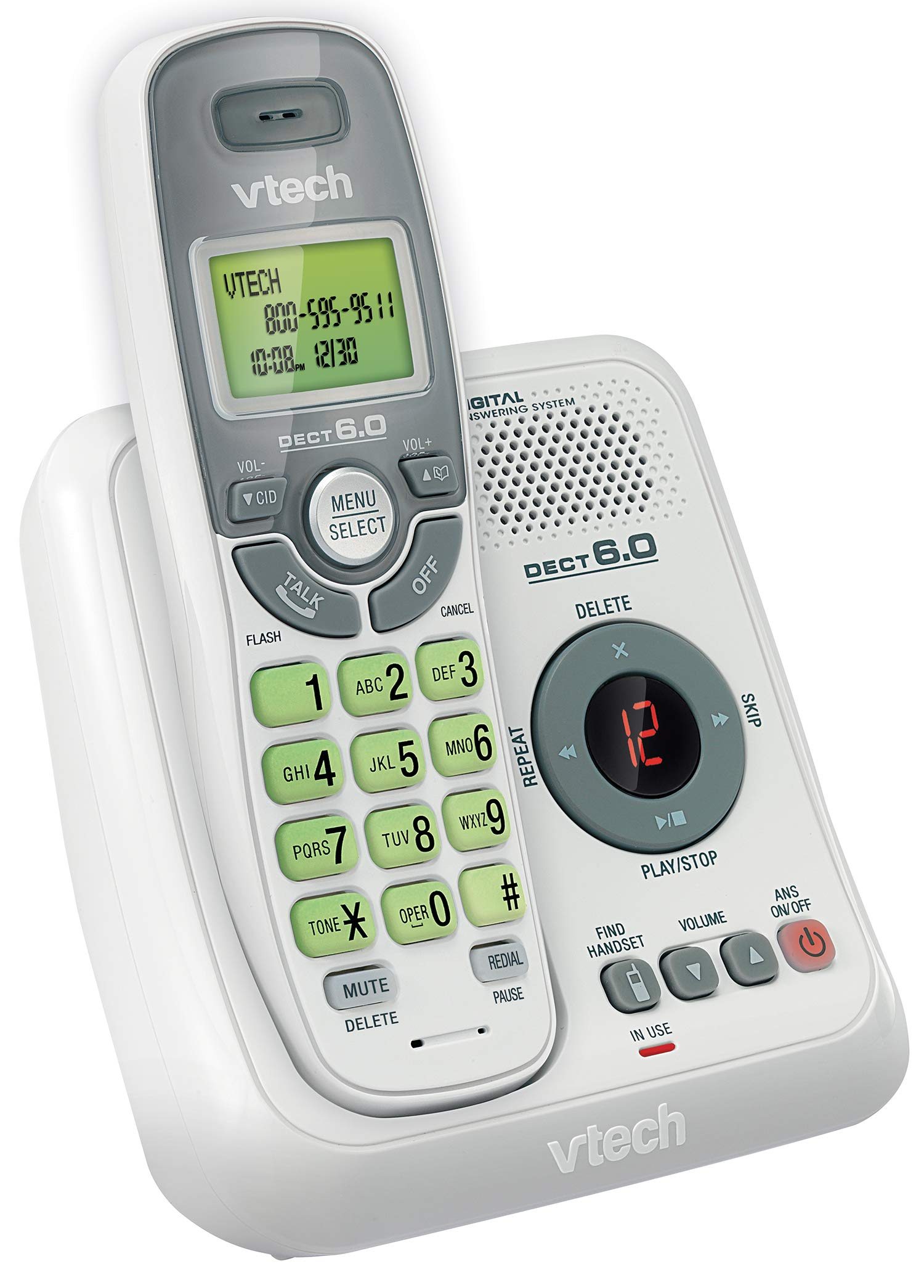 VTech CS6124 Cordless Answering Waiting