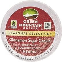 Green Mountain Coffee Seasonal Selections Cinnamon Sugar Cookie Single Serve Keurig K-Cup Pods, Light Roast Coffee, 12 Count