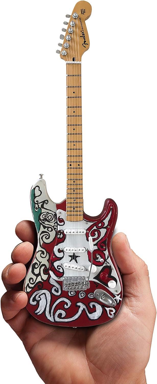 Jimi Hendrix Mini Fender Strat Saville Replica Guitar Model - Officially Licensed