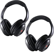 Drive Audio Compatible with uConnect VES Dodge Grand Caravan & Chrysler Town & Country & Jeep Wireless Headphones (2 Pack)...