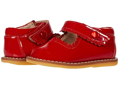 Elephantito Mary Jane (Toddler) (Patent Red) Girls Shoes
