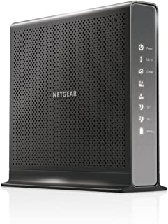 NETGEAR Nighthawk Cable Modem WiFi Router Combo with Voice C7100V - For Xfinity by Comcast Internet & Voice | Supports Cable Plans Up to 400 Mbps | 2 Phone lines | AC1900 WiFi speed | DOCSIS 3.0