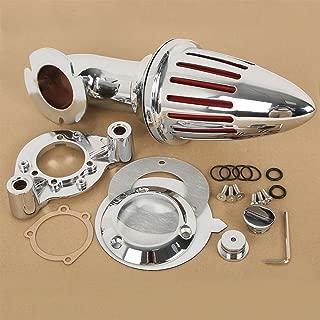 TengChang motocicleta Cromo Espiga Kit de filtro de admisión de filtro de aire para Harley Davidson Sportster XL 1991 1992 1993 1994 1995 1996-2006