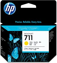 HP 711 3-pack 29-ml Yellow Designjet Ink Cartridge (CZ136A) for HP DesignJet T120 24-in Printer HP DesignJet T520 24-in Printer HP DesignJet T520 36-in PrinterHP DesignJet printheads help you respond quickly by providing quality speed and easy hassle-free printing