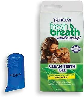 HDP Tropiclean Fresh Breath Clean Teeth Gel Holistic Made in USA