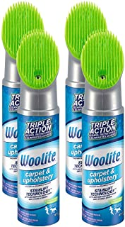 Woolite Carpet and Upholstery Cleaner Stain Remover, 4 pack - 83524 , 12 Oz each